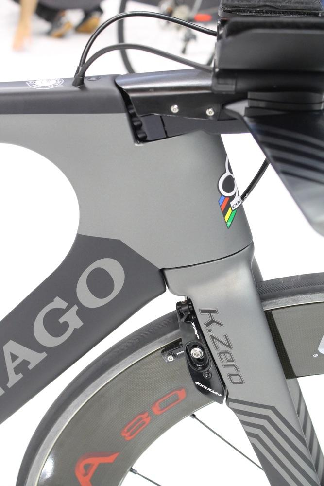 Colnago K.Zero head tube