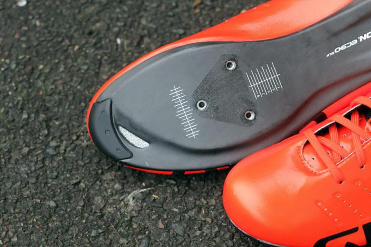 Giro Empire SLX road shoes - sole toe