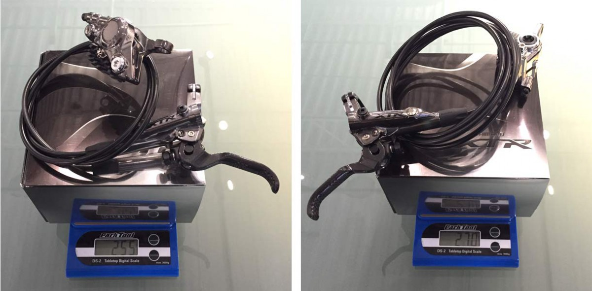Shimano-XTR-M9000-mechanical-actual-weights-trail-brakes02